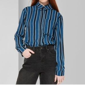 Womens striped longsleeve